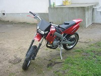 Derbi Supermotard Red Metrakit Racer de Yanckees18 - 7
