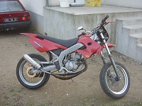 Derbi Supermotard Red Metrakit Racer de Yanckees18 - 8