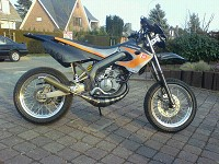 Derbi Supermotard Hebo Manston Racing de FX - 1