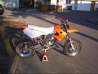 Derbi Supermotard Orange MHR Team de Solstice - 1
