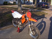 Derbi Supermotard Orange MHR Team de Solstice - 2