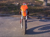 Derbi Supermotard Orange MHR Team de Solstice - 3
