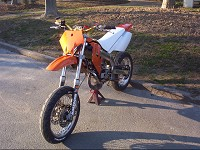 Derbi Supermotard Orange MHR Team de Solstice - 4