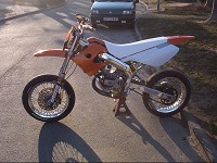 Derbi Supermotard Orange MHR Team de Solstice - 5