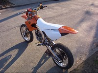 Derbi Supermotard Orange MHR Team de Solstice - 6