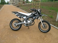Derbi Supermotard Acerbis Powered de Kenny - 1