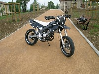 Derbi Supermotard Acerbis Powered de Kenny - 8