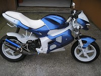 Gilera Dna Blue Firebird de BeNji - 1