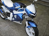Gilera Dna Blue Firebird de BeNji - 3