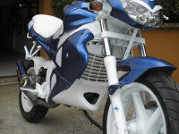 Gilera Dna Blue Firebird de BeNji - 6
