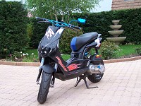Peugeot Ludix BCD Design Black Fury de Scoot Doctor - 1