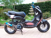 Peugeot Ludix BCD Design Black Fury de Scoot Doctor - 3