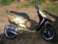 MBK Next Generation Giannelli Gunmetal de gold-next - 1