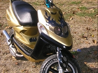 MBK Next Generation Giannelli Gunmetal de gold-next - 2