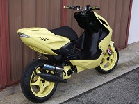 Yamaha Aerox Yellow MHR Team de Ben - 3