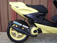 Yamaha Aerox Yellow MHR Team de Ben - 4