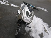MBK Nitro Gray Polini Evolution de Evo21 - 11