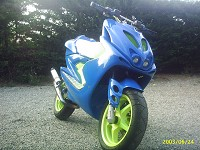 Yamaha Aerox Cool Due Plus de Jostunt - 3