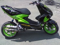 Yamaha Aerox Monster Energy Xtreme d'Ur02kev - 1
