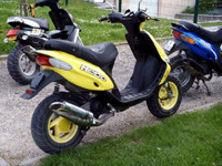 GILERA Stalker the Yellow Stalker de Arnette - 2