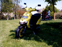 GILERA Stalker the Yellow Stalker de Arnette - 3