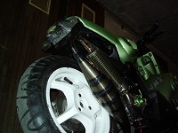 MBK Stunt MHR Team Green Tuning de Flo - 2