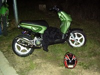 MBK Stunt MHR Team Green Tuning de Flo - 4