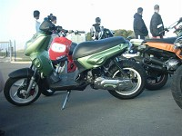MBK Stunt MHR Team Green Tuning de Flo - 5