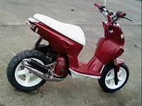 MBK Stunt The MHR de Red Gloss Portos - 1