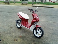 MBK Stunt The MHR de Red Gloss Portos - 3
