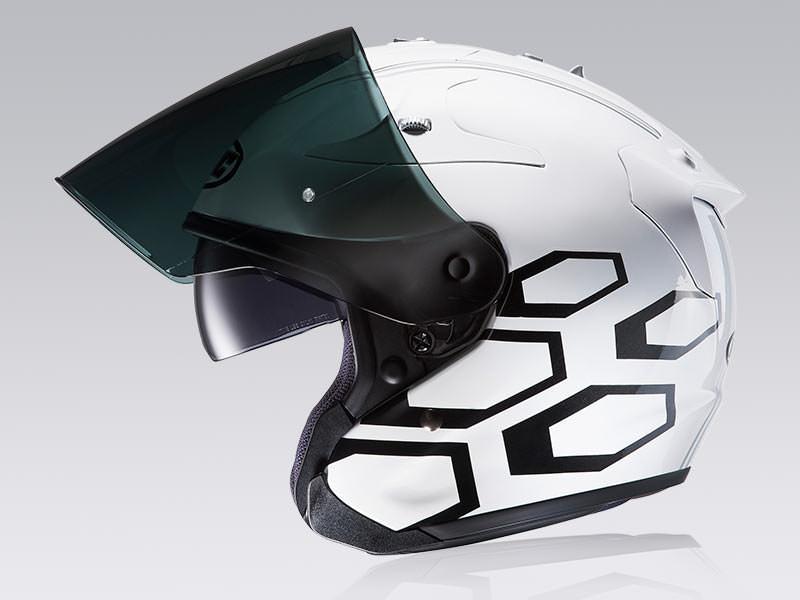 Noir Taille M HJC Casque Moto FG-JET ACADIA MC5F