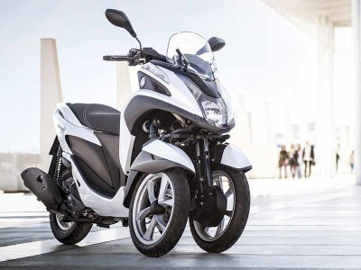 Yamaha Tricity 125 : séries Business et Sport