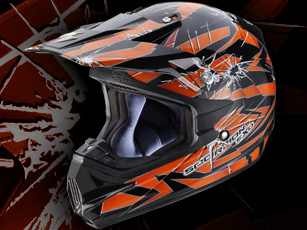 VX-24 Air Impact, le casque cross par Scorpion