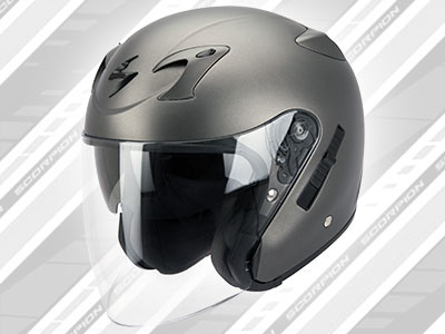 Scorpion Exo 220 : le casque jet 100% Touring
