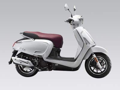 Kymco Like 2017 : le scooter néo-rétro évolue