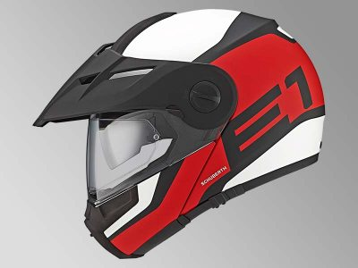 Schuberth E1 : le casque modulable typé cross