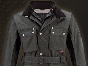 Belstaff Long Way Down, la veste moto extrême