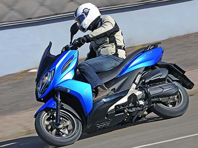 Kymco K-XCT 125 et Xciting 400 : ABS pour 2014