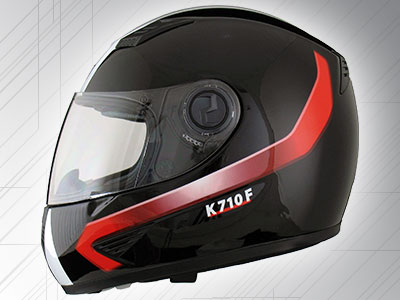 Kiwi K710F : le casque intégral Racing abordable