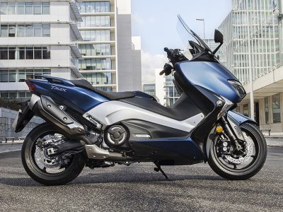 Yamaha Tmax 2017 : 3 versions très high-tech