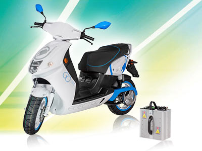Go! S1.4 : le scooter Govecs à batterie amovible