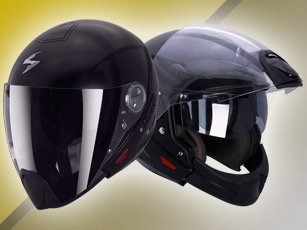 Scorpion Exo 300 Air, le casque Crossover