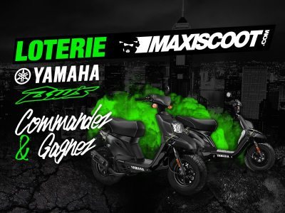 Loterie Maxiscoot : gagnez un Bw's 50cc 2t