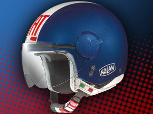 Un casque N20 Fiat version Racing chez Nolan