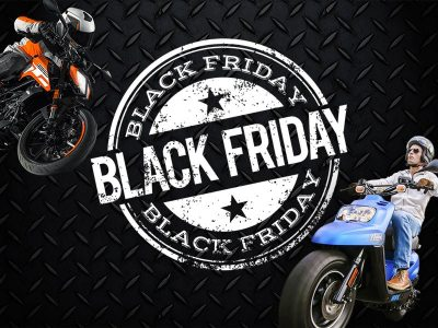 Black Friday : des promos 100% moto et scooter