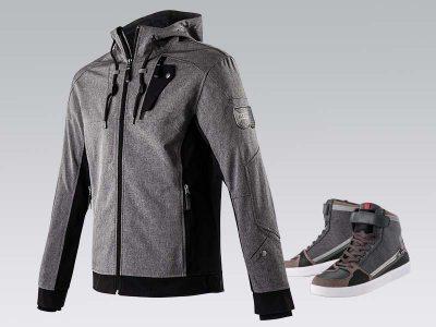 veste moto homme streetwear