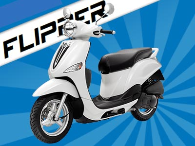 MBK Flipper 125 : le scooter urbain 100% malin