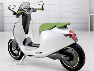 Smart E-Scooter, le concept-scooter électrique