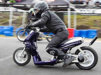 Calendrier Scooterpower 2019 : Drag Challenge