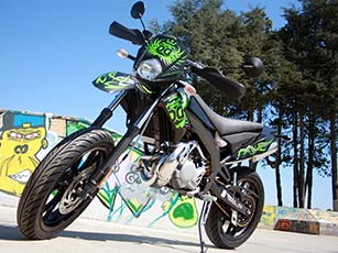 Derbi DRD X-Treme LTD 2013 : le look avant tout